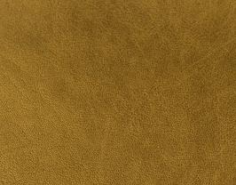Coupon de cuir d'agneau nappa doré antique