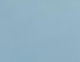 Coupon de cuir de vachette bleu charron