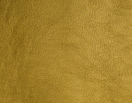 Coupon de cuir d'agneau nappa doré métallisé