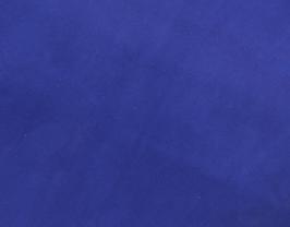 Morceau de cuir d'agneau velours bleu marine