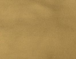 Coupon de cuir de chèvre doré