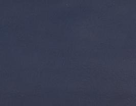 Coupon de cuir de vachette bleu marine