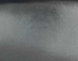 Coupon de cuir de vachette argenté brillant