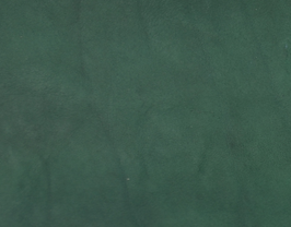 Coupon de cuir de vachette vert sapin