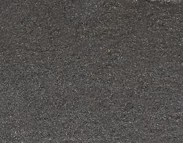 Morceau de cuir de chèvre noir argenté métallisé