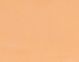 Morceau de cuir d'agneau nappa abricot