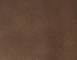 Coupon de cuir d'agneau nappa bronze