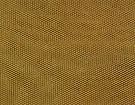 Coupon de cuir d'agneau doré imprimé lézard