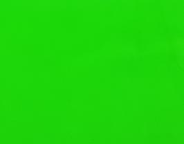 Coupon de cuir d'agneau nappa vert fluo