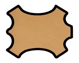 Demi peau de vachette cuir tannage végétal