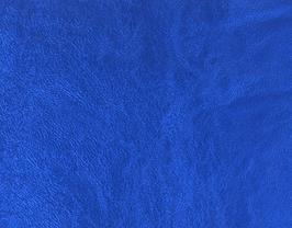 Coupon de cuir d'agneau nappa bleu foncé métallisé