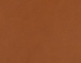 Coupon de cuir de vachette cognac