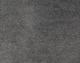 Coupon de cuir d'agneau velours noir effet pailleté