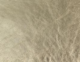 Coupon de cuir d'agneau nappa doré clair