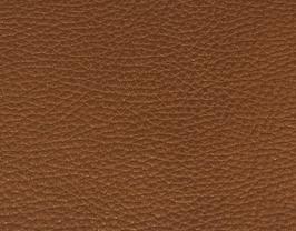 Coupon de cuir de vachette grainé bronze métallisé