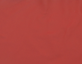 Morceau de cuir de vachette rouge carmin