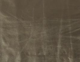Morceau de cuir de mouton doré vintage