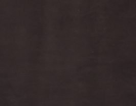 Morceau de cuir d'agneau velours marron foncé