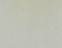 Coupon de cuir de vachette ivoire imprimé lézard vernis