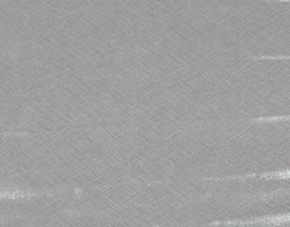Morceau de cuir de vachette blanc argenté imprimé tissé