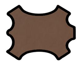 Peau d'agneau chocolat