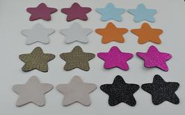 Lot n°3 de 16 étoiles en cuir
