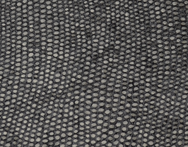 Coupon de cuir d'agneau noir argenté imprimé poisson