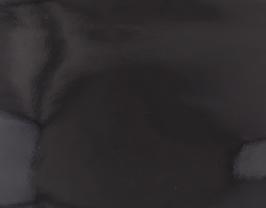 Coupon de cuir de vachette noir vernis
