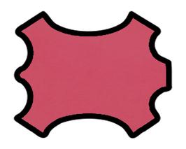 Peau de chèvre chagrin rose fuchsia