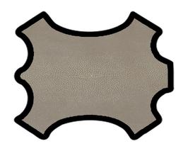 Demi peau de vachette mastic imprimée galuchat