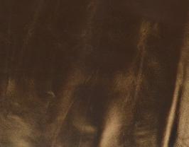 Morceau de cuir de chèvre bronze