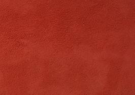 Coupon de cuir d'agneau velours rouge clair