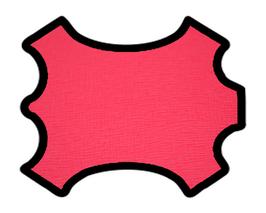 Peau de vachette imprimée rose fuchsia