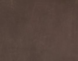 Morceau de cuir de vachette nubuck marron foncé vintage