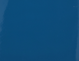Coupon de cuir de vachette bleu capri vernis