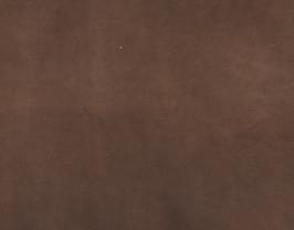 Morceau de cuir de chèvre velours chocolat