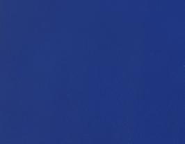 Coupon de cuir d'agneau nappa bleu roi