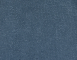 Morceau de cuir de vachette nubuck bleu