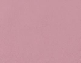 Coupon de cuir de chèvre nappa rose dragée