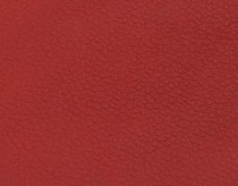 Coupon de cuir de vachette grainé rouge