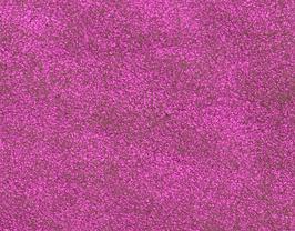 Coupon de cuir d'agneau velours vieilli rose métallisé
