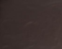 Morceau de cuir de vachette marron foncé