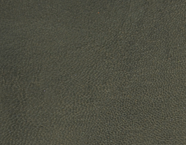 Coupon de cuir de chèvre kaki métallisé