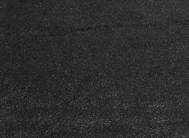 Morceau de cuir de veau nubuck noir pailleté
