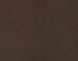 Coupon de cuir de vachette nubuck marron foncé