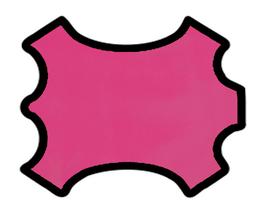 Peau d'agneau nappa rose magenta