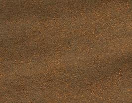 Coupon de cuir d'agneau velours vieilli bronze métallisé