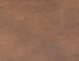 Morceau de cuir de vachette nubuck marron vintage