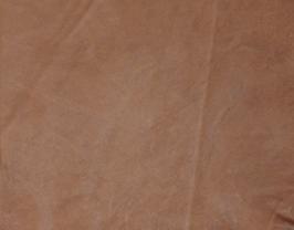 Morceau de cuir de chèvre tabac vintage
