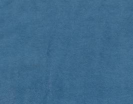 Morceau de cuir de vachette bleu roi imprimé lézard